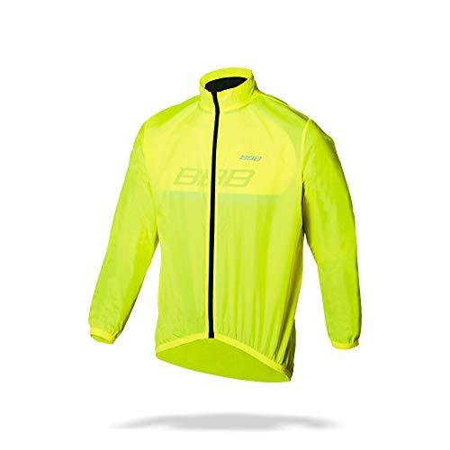 BBB Cycling Fahrrad Regenjacke BBW-148 für Damen, Herren, Kinder, neon yellow, XXXL, Bike Rainjacket