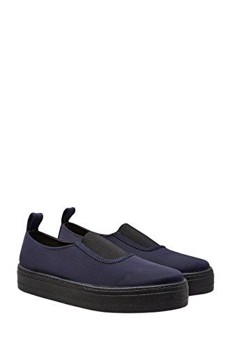 next Chaussures De Skate Nouées À La Cheville Standard Femme Bleu