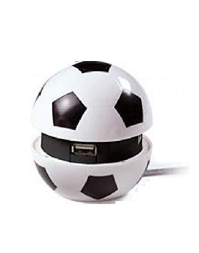 Junior Star Palla Calcio Multi Hub USB-Forza Juve, Bianco Nero, M