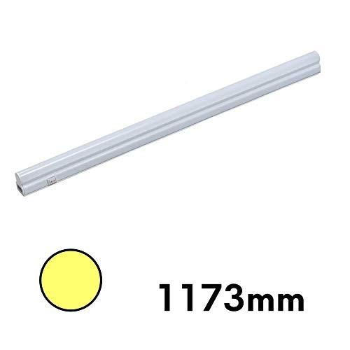 LED Küchenleuchte Unterbauleuchte Aufbauleuchte Küchenlampe Unterbaustrahler SET, Lichtfarbe:warmweiß, Länge:1173mm