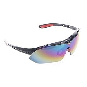 cuigu gafas de protección con lentes transparentes conjunto de gafas de seguridad para Laboratoires, trabajos de construcción, chimies–para más de confort, gris