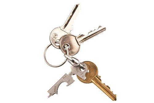 3181n2h 0SL - KeyTool 8-in-1 Keyring Multi-tool, True Utility