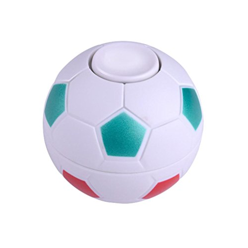 HARRYSTORE Football Game Hand Spinner Focus ADHD EDC Anti Stress Toy Gyro Toy