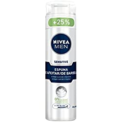 Nivea Men Sensitive Espuma de Afeitar sin Alcohol para Pieles Sensibles - 250 ml