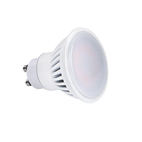 Spot led GU10 9 watt (eq. 70 watt) - Couleur eclairage - Blanc chaud 3000°K