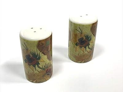 Van Gogh Salt & Pepper Sunflowers Porcelain Shaker Set from Van Gogh Museum