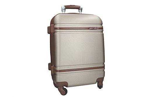 Maleta rígida PIERRE CARDIN oro mini equipaje de mano ryanair 4 ruedas VS164