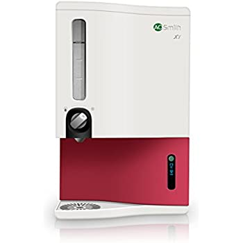 A.O.Smith X7 48-Watt RO Water Purifier (White/Passion Red)
