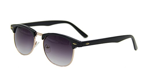 ASVP Shop® Classic Retro 1980's Vintage Clubmaster Sunglasses Full UV400