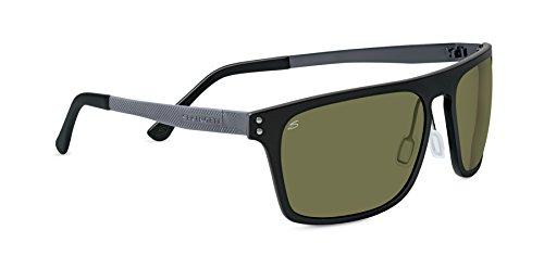 Serengeti Eyewear Ferrara Lunettes de soleil M L Noir satiné a1f0a5ada18b