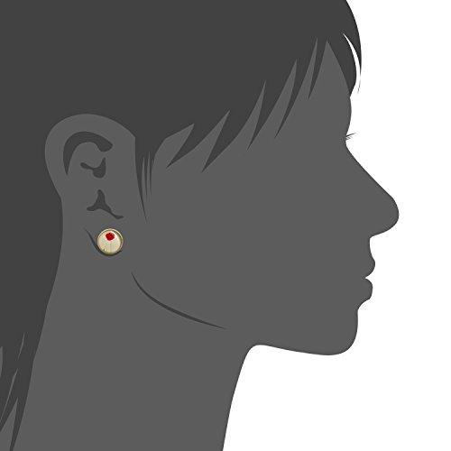 14mm Fait Main Boucles d'oreilles en Cuivre pour les Femmes Fille carthame