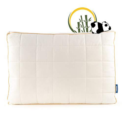 *Vitapur Kopfkissen 50×70 All Sides Sleep – Polster für Alle Schlafpositionen aus Naturmaterialien – Höhenverstellbare und Waschbare Kissen mit Reißverschluss aus Bamboo*