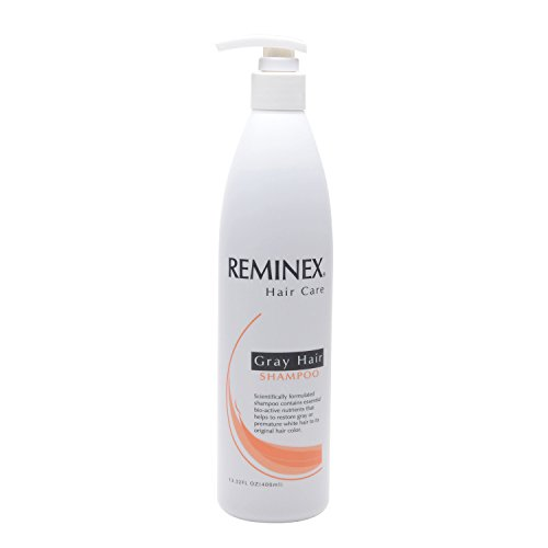 Enriched with emu oil , Shou Wu extract, Vitamin B12, Vitamin B6 and bio-nutrients, Reminex shampoo effectively helps to inhibit the growth of premature white and gray hair while adding much needed omega 3's and essential acids that hair needs to grow properly