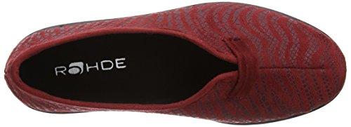 Rohde 2581, Scarpe chiuse donna Rosso (rosso)