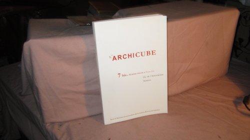 L'ARCHICUBE N° 7 2009 REVUE DE L&#3...