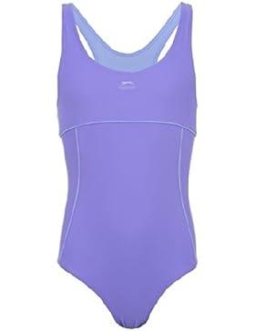 Slazenger Badeanzug für Mädchen, mit klassischen X-Ausschnitt am Rücken, langlebigen Materialien! Der ideale Schwimmanzug...