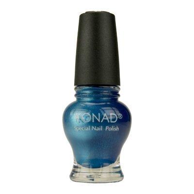 Konad Princess Vernis à ongles - pour les kits Nail Art - Bleu Perle (12ml)