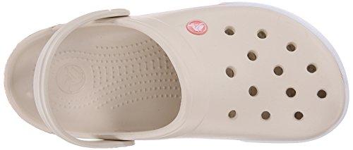 Crocs Crocband Ii.5 Clog, Zoccoli Unisex – Adulto Beige (Stucco/Melon)