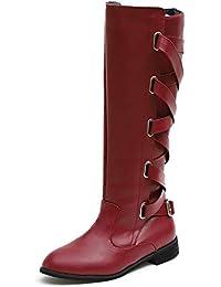 Amazon.es: botas altas mujer - Beige: Ropa