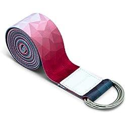 omnihabits - Con anillos de metal resistentes para ajustar el tamaño (2,2 m), diseño estampado
