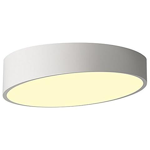 XPY&DGX--Deckenleuchten,Led-modernen, minimalistischen skandinavischen kreativen Charakter Esszimmer Schlafzimmer Wohnzimmer Beleuchtung, 25 cm