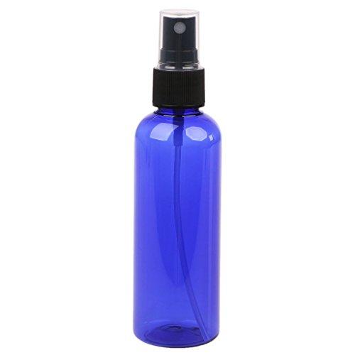 Junlinto 100ml Rechargeable Pompe de Presse Pompe Bouteille Spray Liquide Parfum Atomiseur Hot Blue