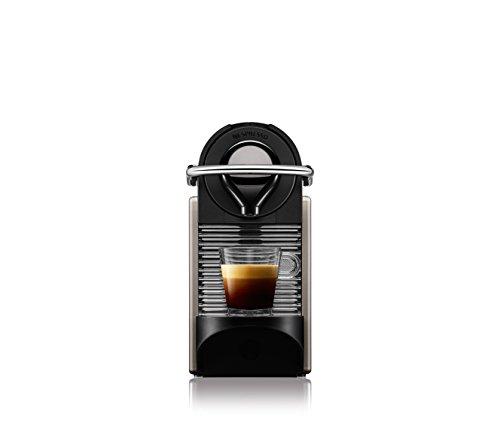 Nespresso Pixie con Aeroccino XN301T macchina per caffè espresso di Krups, colore Electric Titan - 3