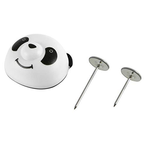Bigsweety 8 Stücke Magnetische Panda Schnalle Bettlaken Rutschfeste Bettbezug Fixer Clip Duvet Clips Verschluss Tröster Grip Corner Keeper (#1) -
