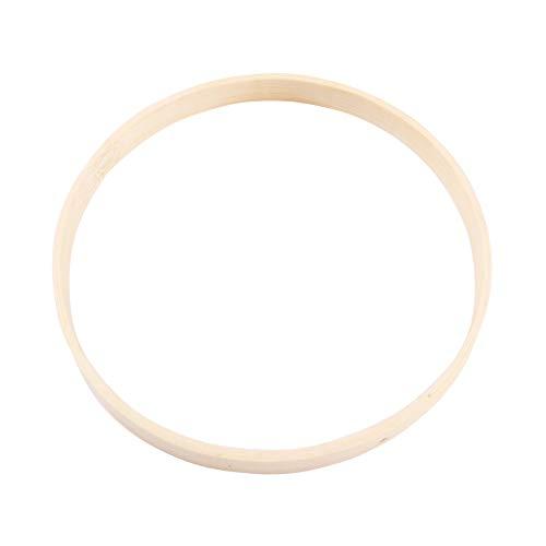 Vosarea Drahtringe Set Holz Ringe Handwerk für Traumfänger DIY Handwerk 20cm 10 Stück -