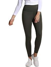 4894ec9741ed76 CRZ YOGA Women's Hugged Feeling High Waist Tight Squat Proof Pants Workout  Leggings with Pocket-