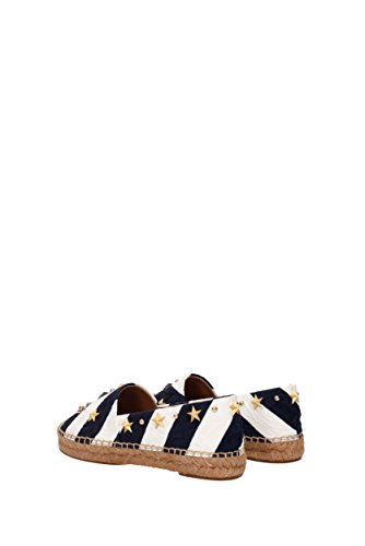 Stoff EU CE0002AG142 Dolce Damen Blau amp;Gabbana Espadrilles qC7twvBxn