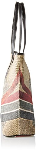Gattinoni Gplb002, Borsa a Spalla Donna, 14x36x34 cm (W x H x L) Multicolore (Classico)