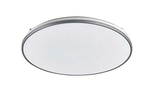 Hippo 50 W Corée Dlr-251 économie d'énergie plafond éclairage LED salle de luxe moderne rond Luminaire Lampe Blanc Froid 6500 K Lumière du jour ampoule Température/circulaire Jante Argent