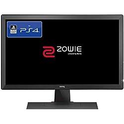 BenQ ZOWIE RL2455S Monitor a 24 Pollici per eSport, con Licenza Ufficiale per PS4/PS4 Pro, Tecnologia Lag-free, Black eQualizer, Color Vibrance