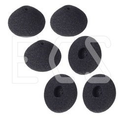 Executive Communication Systems ECS-510310928231 Replacement Antimicrobial Cone Shape Ear Cushions for Philips Transcription Headsets 3 Pair 3182QfqU4ML