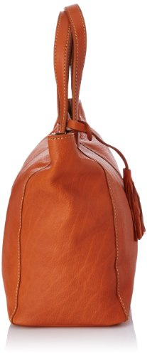 Loxwood Cabas Parisien mm, Borsa Tote Donna, Taglia Unica Arancione (Orange Tan)