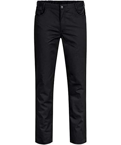 GREIFF Herren-Hose Five Pocket Cuisine Basic 5321 Regular Fit, Farbe: Schwarz, Größe: 62
