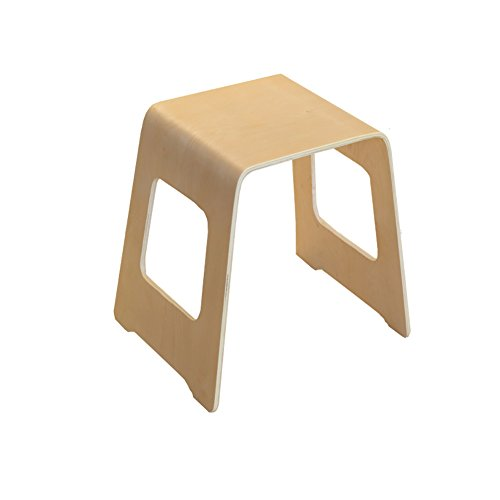 ZEMIN Kreativ Solid Wooden Kleine Square Hocker Haushalt Einfache Klavier Wohnzimmer Study Möbel, Holz Farbe ( größe : 50*42*44.5CM )