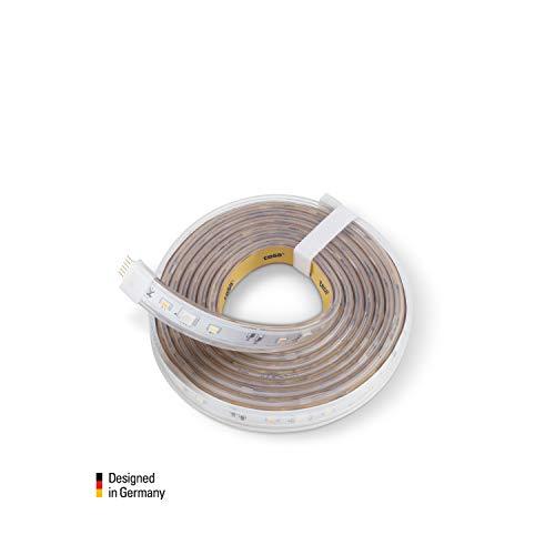 Eve Light Strip 2M Extension - Striscia LED Intelligente, Bianco e Colori a  Spettro Completo, 1800 Lumen, Non Richiede Hub (Apple Homekit) 2M