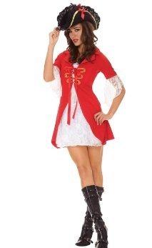 Elegant Moments - Disfraz de pirata para mujer, talla UK 8-10 años (ELE9784-S)