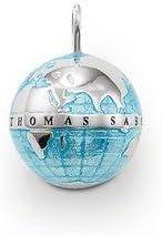 Thomas sabo - Colgante de plata de ley pe452–007–1mundo