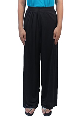 Romano Women's Black Plazo Pant