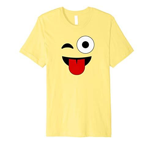 Für Kostüm Gruppe Lehrer - Smiley Gesicht Emoji Gruppe Passenden Kostüm T-Shirt