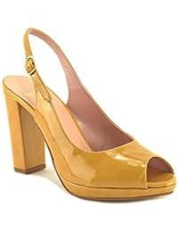 ConBuenPie by Mayfran - modelo 5622 - Calzado de Piel para Mujer Color Amarillo, Fuxia y Marino.