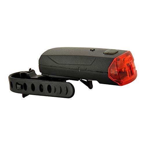 Fischer - Luce posteriore a LED per bicicletta, con supporto universale
