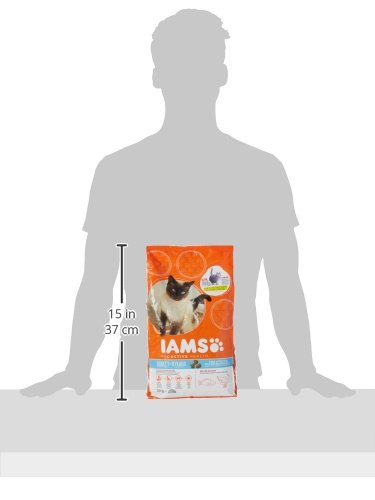 Iams for Vitality Cat Food with Ocean Fish for Adult Cats, 3 kg 8