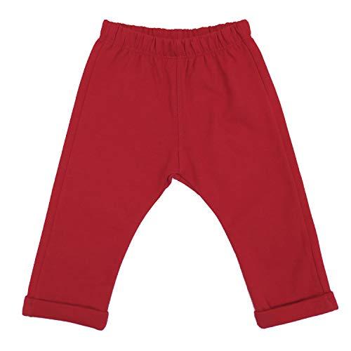 Top Top Baby-Jungen pompeyo Hose, Rot (Rojo 400), 86 (Herstellergröße: 18-24)