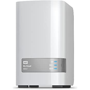 WD My Cloud Mirror 4 TB 2-bay Personal Cloud Storage NAS (Previous model)