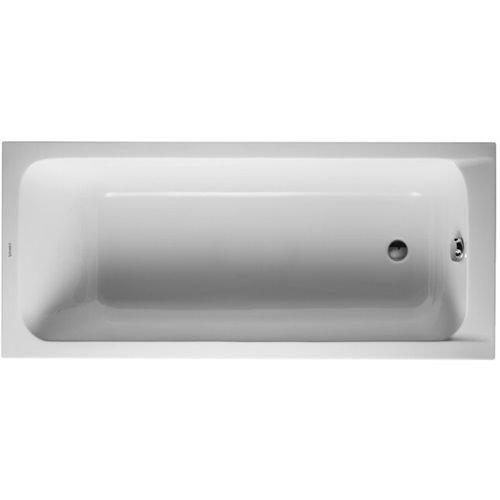 Duravit–Schale rechteckig d-code eingebaut 1700mm 20L weiß