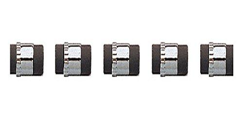 Cross Radiergummies (0,5 mm) 5 Stück schwarz
